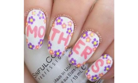 Diseño de Uñas para el Dia de la Madre 7