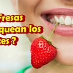 BLANQUEA TUS DIENTES CON FRESAS | REMEDIOS CASEROS PARA BLANQUEAR TUS DIENTES