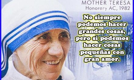 Frases Celebres de Maria Teresa de Calcuta 1