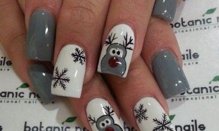 Uñas Decoradas de Navidad 12