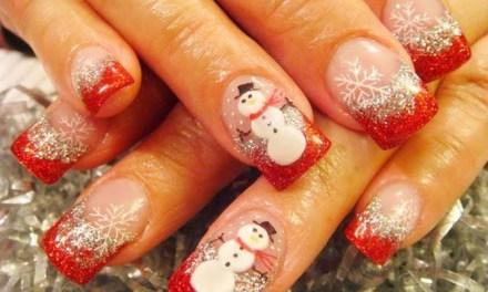 Uñas Decoradas de Navidad 9