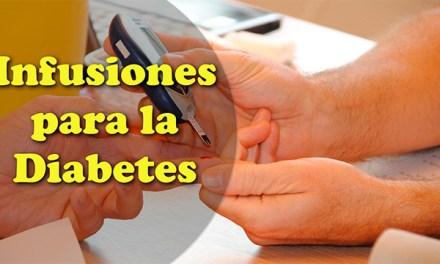 Infusiones para la Diabetes Alta Tipo 1 o Tipo 2, tratamiento de forma natural