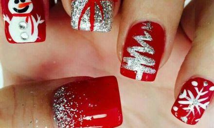 Uñas Decoradas de Navidad 21