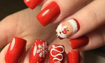 Uñas Decoradas de Navidad 41