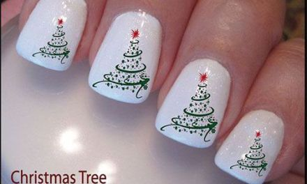 Uñas Decoradas de Navidad 44