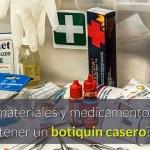 Que debe tener un Botiquin de primeros Auxilios en una Empresa o Casa