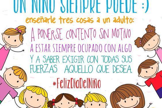 Frases para el Día del Niño 3