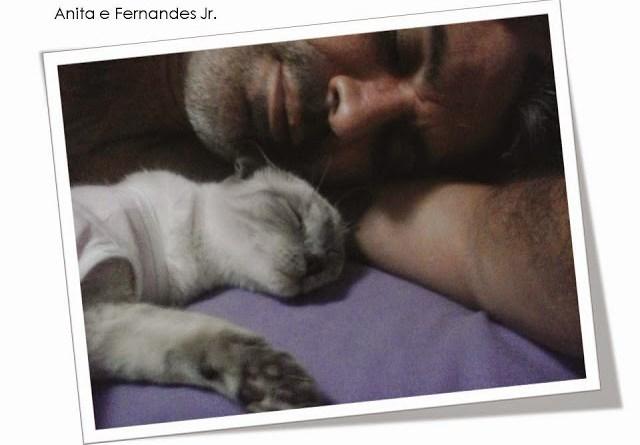 Anita e Fernandes Jr.
