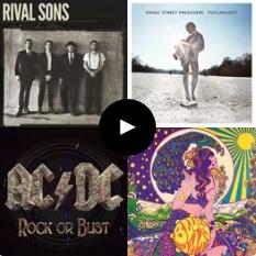 Playlist do Rock – Lançamentos 2014