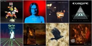 Os Melhores álbuns do Rock Internacional de 2017.