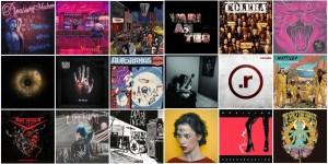 Os Melhores álbuns do Rock Nacional de 2018.