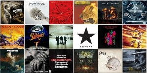 Os Melhores álbuns de Rock e Metal dos anos 2000 e anos 2010.