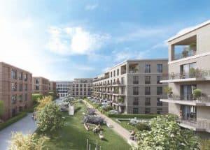 Hafencity Dresden  1 Zimmer Wohnung  2610 m