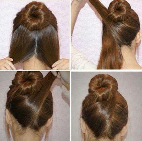 80 peinados sencillos para fiestas pelo corto y largo - Peinados para bodas faciles de hacer en casa ...
