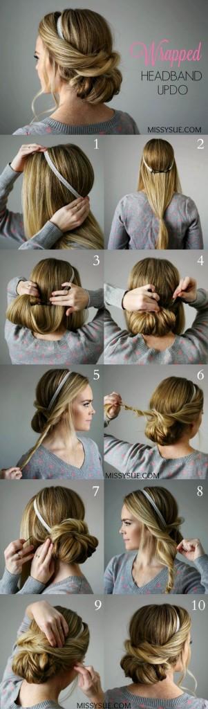 peinados faciles 105