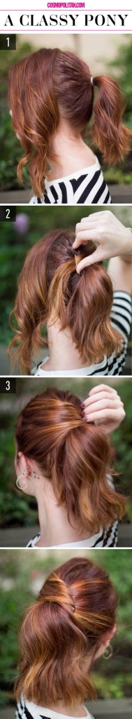 peinados faciles 14