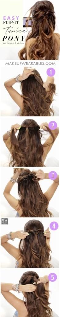 peinados faciles 77