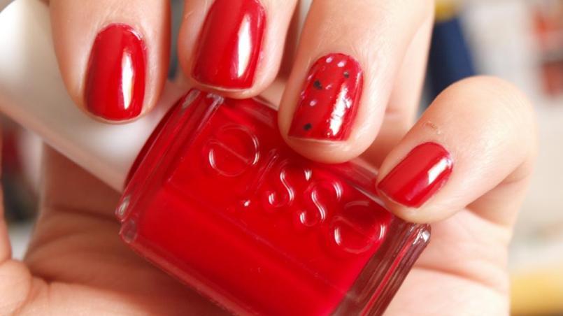 Unas Decoradas En Rojo 60 Deas Geniales Para Tu Manicura