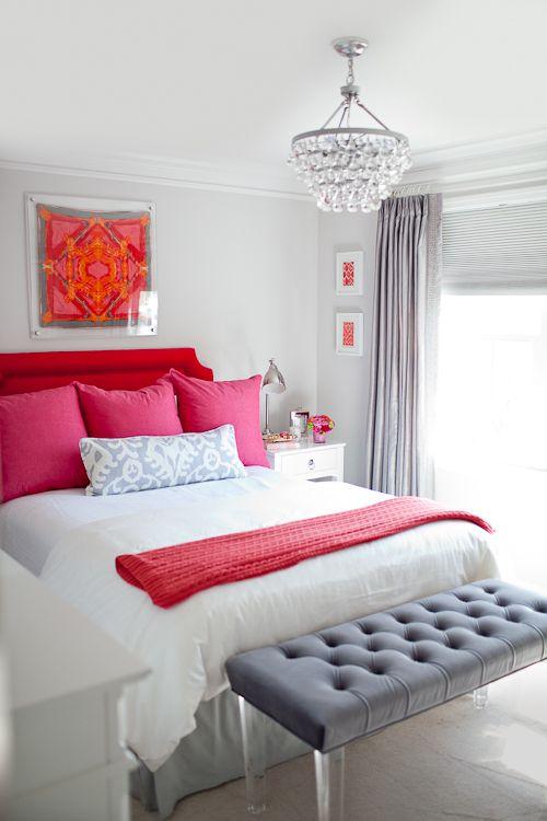 decoración de cuartos en color gris 10