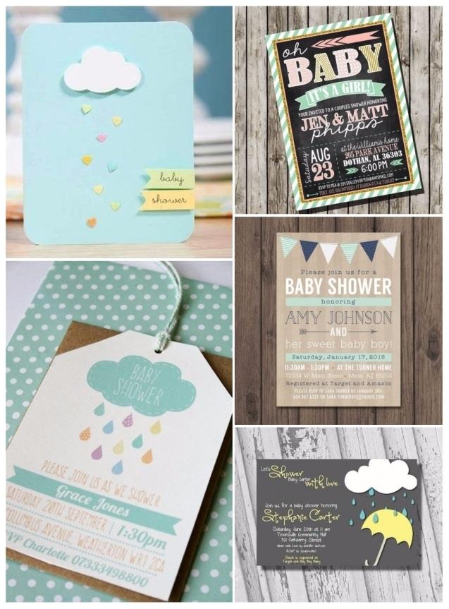 hacer invitaciones para baby shower en linea