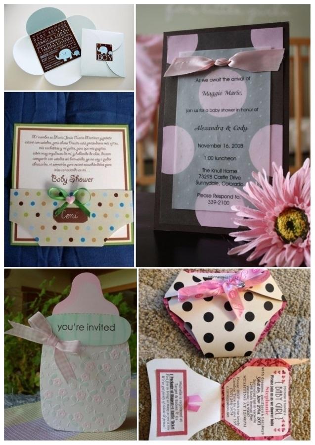 M s de 60 invitaciones para baby shower gratis y f ciles for Decoracion de casas hechas a mano