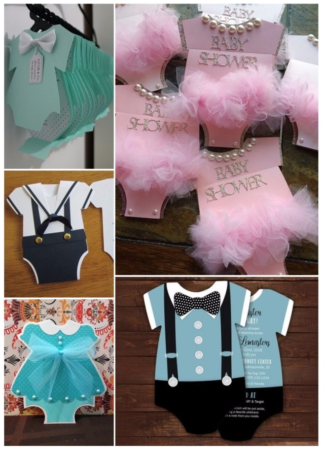 bonitas invitaciones para baby shower