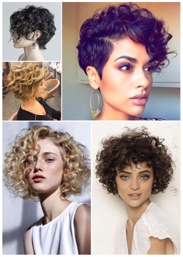peinados para cabello corto y esponjado