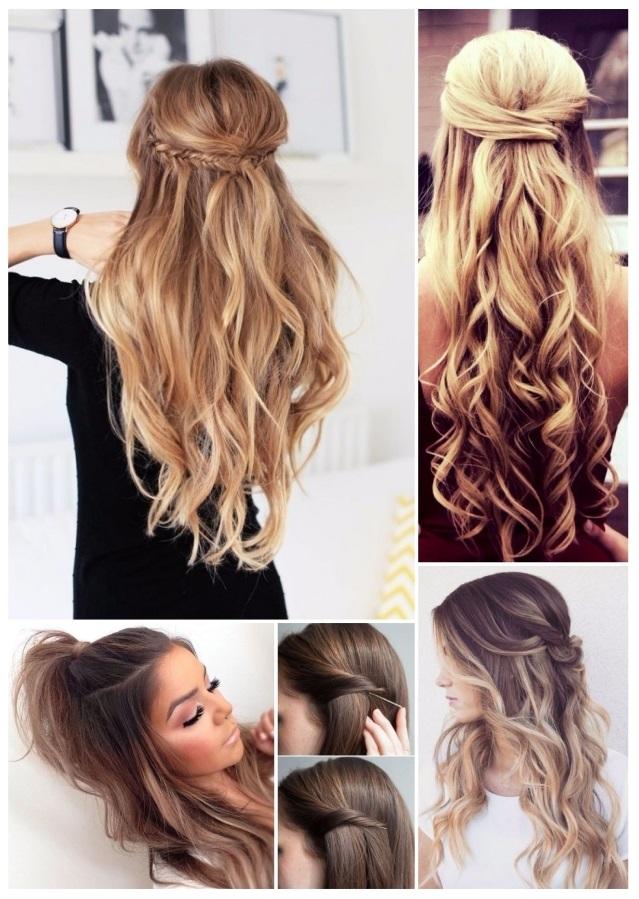peinados de moda con ondas
