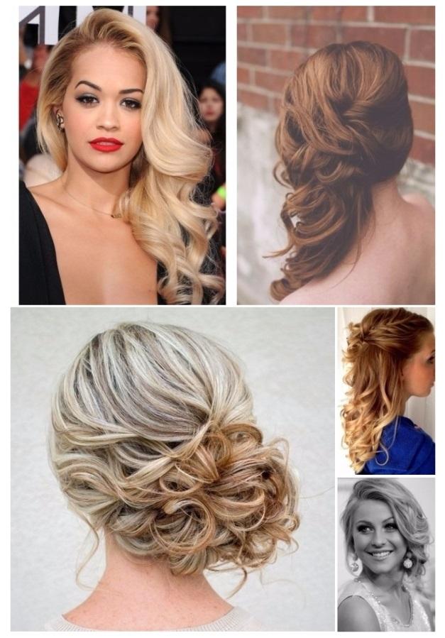 peinados para asistir a una boda de noche