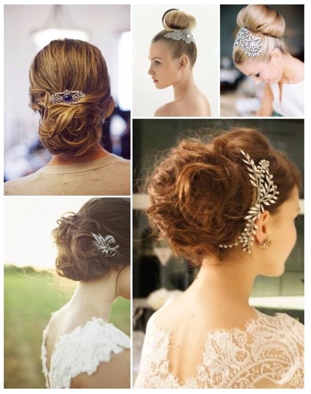 hermosos peinados de novia