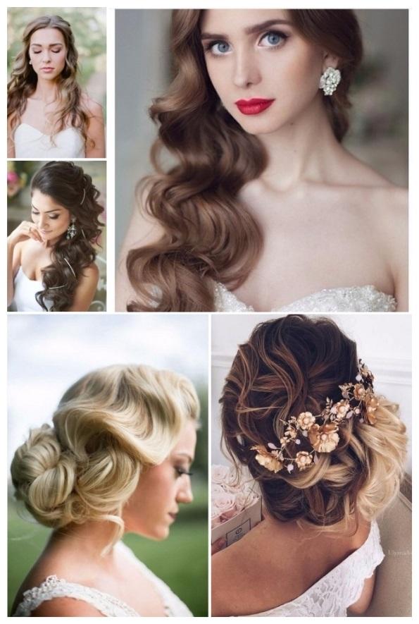 Peinados De Novia Modernos Ideales Para Tu Boda - Peinados-novia-pelo-suelto-rizado