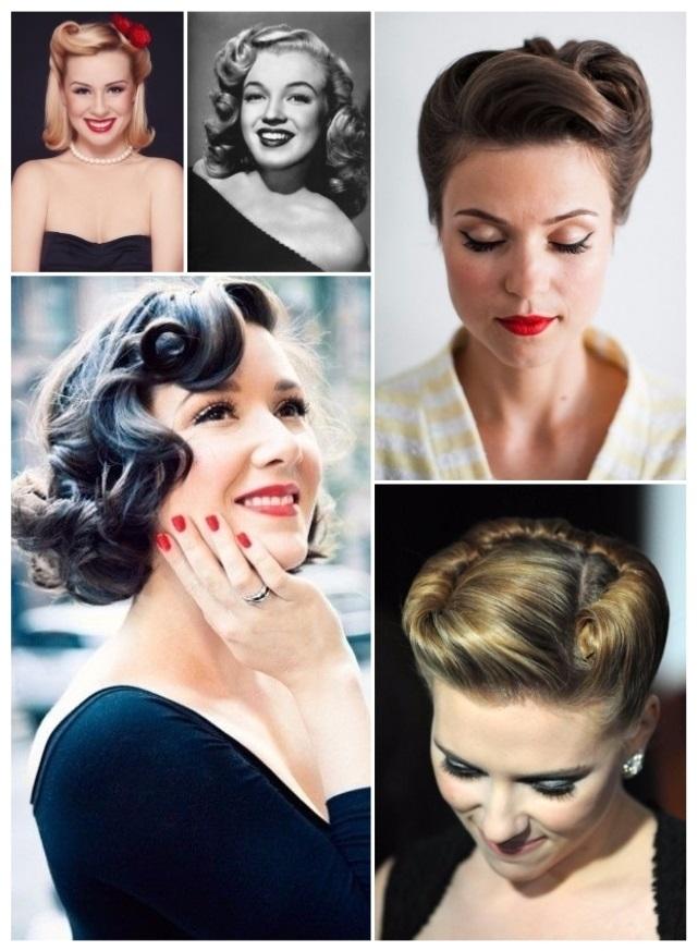 peinados pin up imagenes