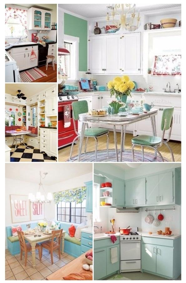 ¡20 ideas de decoración para cocinas vintage que amarás!