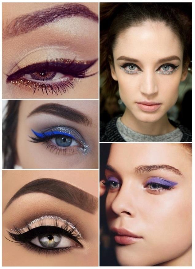 imágenes de maquillaje para año nuevo