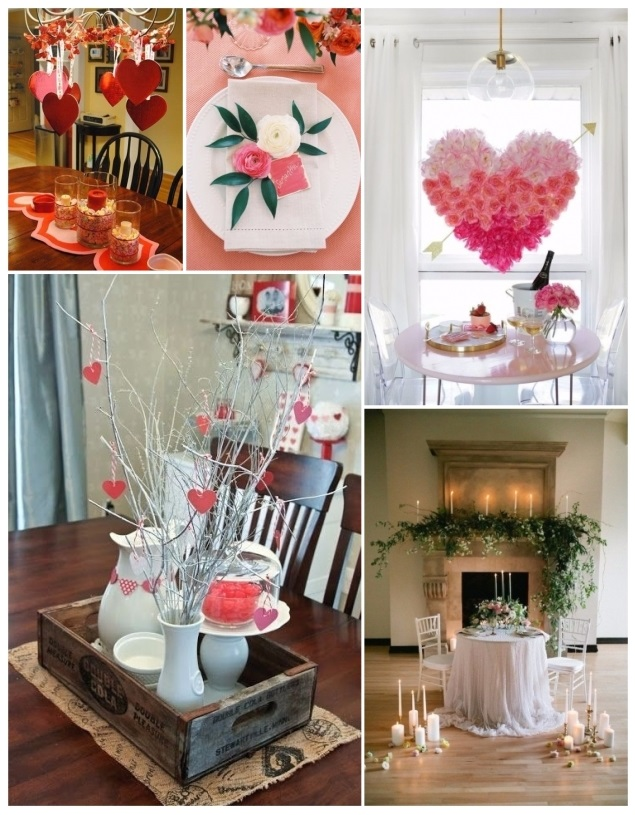 Como decorar para san valent n 60 hermosas ideas de for Puertas decoradas del 14 de febrero