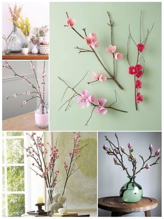 Decorar con ramas secas ideas r sticas y geniales para tu - Decoracion con ramas de arboles ...