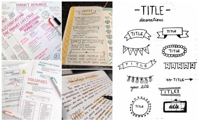Apuntes bonitos y perfectos: Ideas para organizar tus libretas