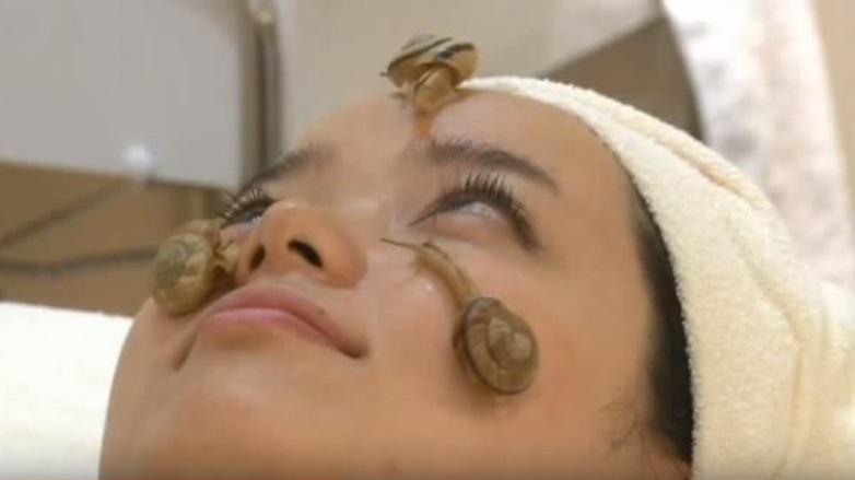 mascarilla casera de baba de caracol