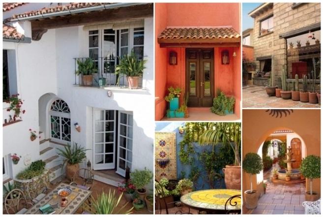 decoración de casas pequeñas estilo mexicano