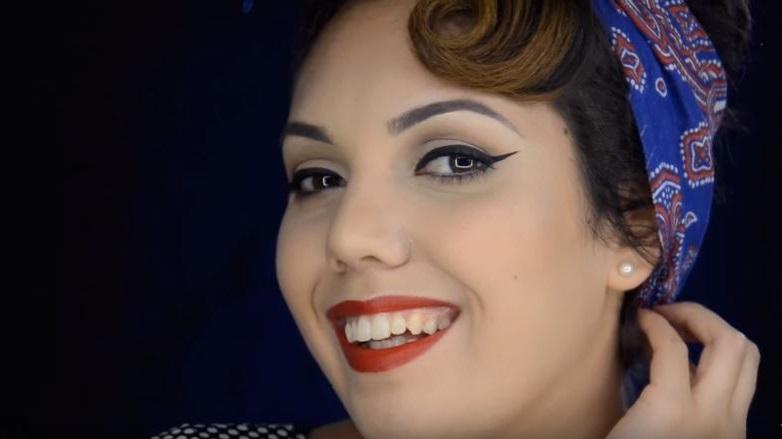 Maquillaje Pin Up: Atrévete a lucir como chica de calendario ?