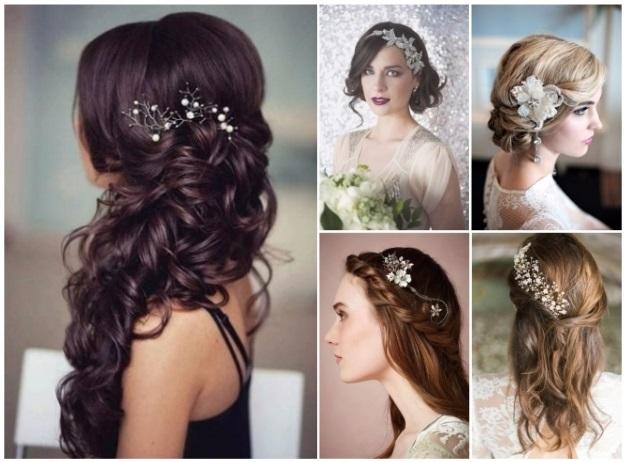 peinados con tocado para invitadas de boda