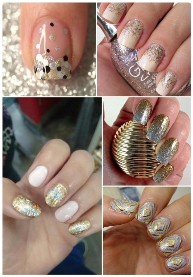 Uñas decoradas en plata: ¡+40 diseños para una manicura plateada!