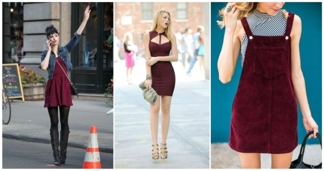 Segun El Vestido Color Un Como Combina Su Combinar EXInq8