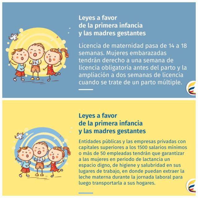 865f9fe16 Licencia de maternidad sera de 18 semana por ley. – Canal Guacari.
