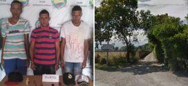 Tres jóvenes capturados mientras atracaban a un hombre en Guacari.