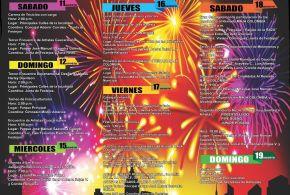 Esta es la programación de eventos de las Fiestas de San Roque 2018.