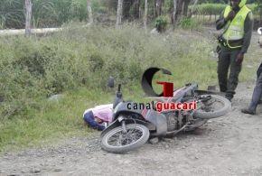 Identifican al hombre asesinado en Guacas, Guacari.