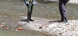 Encuentran cuerpo de un bebé en el río Morales de Tulua Valle.