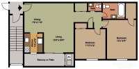 Floor Plans & Pricing | Canal House Apartments