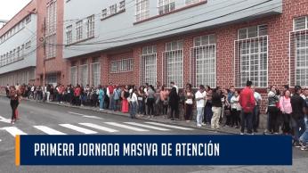 PRIMERA JORNADA MASIVA DE ATENCIÓN